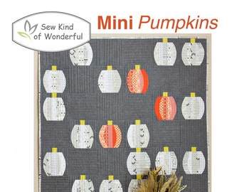 Mini Pumpkin, Easter Egg, Christmas Ornament featuring Mini Quick Curve Ruler - Sew Kind of Wonderful By Jenny Pedigo # SKW501
