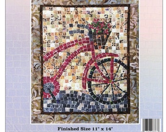 Bicycle Mosaic - Mini Mosaic Quilts From Oy Vey Quilt Designs By Cheryl Lynch - MM383 - DIY Pattern