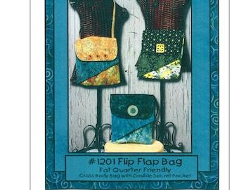 Flip Flap Bag - Whistle Pig Productions - Fat Quarter Friendly - WCP 1201 - DIY Project