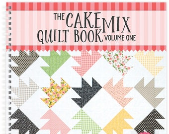 Moda Cake Mix Quilt Blocks by Its Sew Emma - softcover - Cake Mix Papers sold separately