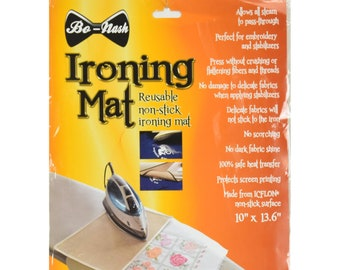Bo-Nash Ironing Mat -  Press Cloth - 10x13.5 Reusable sheet BN1005