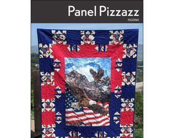 Quilt Pattern -  Panel Frame by Swirly Girl - SWG 062 - includes two sizes - DIY Project
