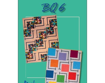 Quilt Pattern - BQ6 by Debbie Bowles for Maple Island Quilts - MIQ 243 - DIY Pattern Only