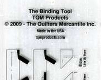 Binding Tool & French Braid Template Ruler # TQM001 -  Acrylic