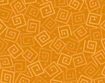 Harmony Blender Fabric - Squares by Quilting Treasures 24779 SA Amber Yellow - Priced by the 1/2 yard