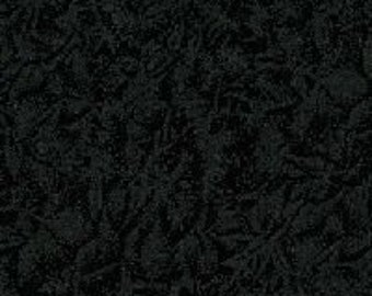 Black Fabric - Glimmer Metallic Glitter Fabric - Fairy Frost - Michael Miller CM 0376 Onyx - Black & silver - Priced by the 1/2 Yard