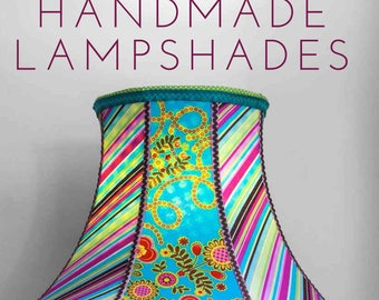 Book to make your own lampshades - Handmade Lampshades by Natalia Price-Cabrera - 192 pages, color illustrations - DIY Project - how to book