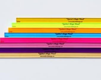 Magic guide - Marking Ruler - half inch ruler - sold by the each - assorted colors