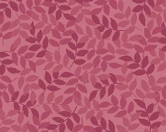 Quilting Treasures, leaf fabric, quilt fabric, purple fabric - Leaf by Quilting Treasures 24777 DM Mulberry - 1/2 yard