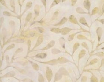 Moda Batik - Leaf Batik - Neutral Batik - Carnival - 4348 14 Tan Sand - Priced by the Half Yard