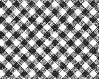 Black Gingham - Sunny Sunflowers collection Sharla Fults for Studio E - 5576 91 black  - Priced by the 1/2 yard