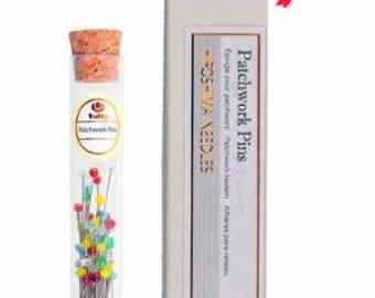 Patchwork Pins - Hiroshima Needles Company - Tulip THN 075E - 60 pins
