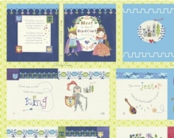 Royal Court Soft Book - Fairy Tale Fabric - Meet the Royal Court  Jill McDonald for Windham - Priced by the Panel - DIY Project