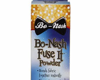 Fuse IT Powdered Fusible Bonding Agent - Confetti Quilt - Fabric Mending - Fabric Patch - Applique - Bo Nash 2oz