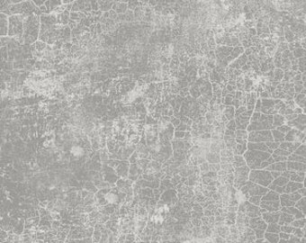 Essential Crackle Fabric - Solid Blender - Wilmington Fabrics - 89162 900 Gray - Priced by the half yard
