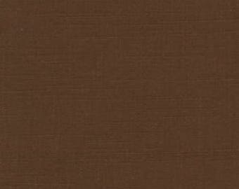 Solid Fabric, Textured Solid - Henley Studio for Andover Fabrics AT Cocoa (Brown) -  Priced by the half yard