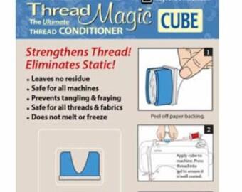 Thread Magic Cube, Thread Conditioner and holder - Sewing Machine Thread Conditioner - Taylor Seville
