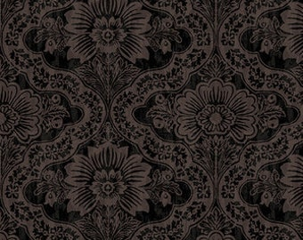 Farmers Market - Farm Damask - by Geoff Allen for Studio e - 4453 99 Printed Design - Priced by the 1/2 yard