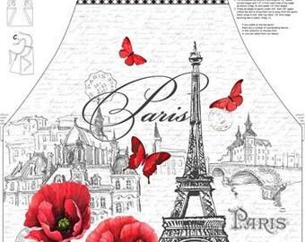 Apron Panel  Ooh La La Paris - Michel Design Works for Northcott - sold by the panel 23570 - DIY Project