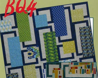 Quilt Pattern - BQ4 by Debbie Bowles for Maple Island Quilts - MIQ 457 - DIY Pattern Only