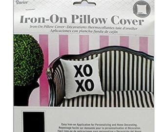 Pillow cover and iron on transfer - choose your pillow color and your iron on transfer design