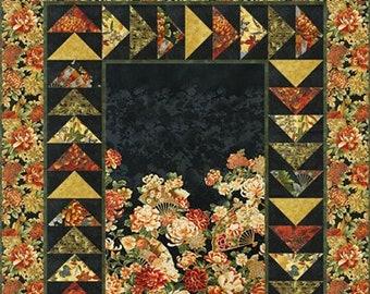 Flight North Quilt Pattern -Panel Pattern -Flying Geese Border Pattern - Mountain Peek Creations - MPC 277 Pattern