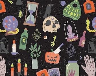 Mystical Halloween by Caroline Alfreds - Paintbrush Studio 120 21798 - Priced by the half yard