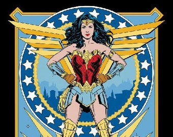 Wonder Woman 84 - Super Hero - Super Hero Women - Women of DC Comics  - Camelot 23400839 - Priced by the 35-Inch Panel