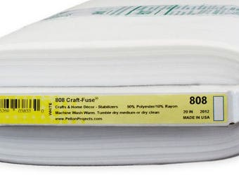 Pellon® 808 Craft-Fuse® Iron On Interfacing Stabilizer - Priced by the Yard, 20-Inch Wide