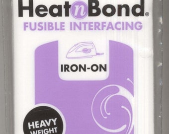 Heat N Bond - Heavy Weight Fusible Interfacing - Thermoweb 3338 - Precut 1 yard x 20 inches