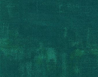 Grunge Basics Fabric by Basic Grey for Moda Fabrics 30150 229 Dark Jade Green - Priced by the Half yard