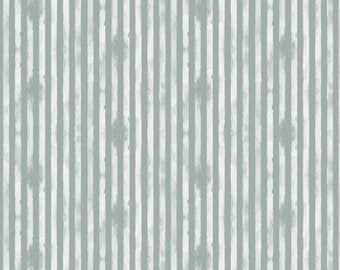 Stripe Fabric - Scuffed Stripe - Abbie - Sue Daley Designs with Gabrielle Neil - Riley Blake Designs C7715 Gray - Priced by the 1/2 Yard