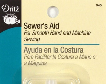 All Purpose Sewers Aid - Thread Conditioner - Scissor Lubricant - Machine or Hand Sewing - 1/2 fluid ounce Dritz 945