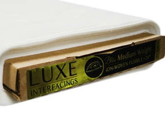 Fusible Interfacing, Tee Shirt Quilt, Medium Weigth Non Woven Fusible  Luxe LX816 - 20-Inch by one Yard