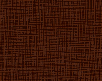 Textured Graphic Fabric - Straight Grain Collection - Patrick Lose Fabrics  - SG1001-023 Chocolate - Priced by the Half yard
