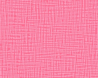 Textured Graphic Fabric - Straight Grain Collection - Patrick Lose Fabrics  - SG1001-034 Bubblegum Pink - Priced by the Half yard