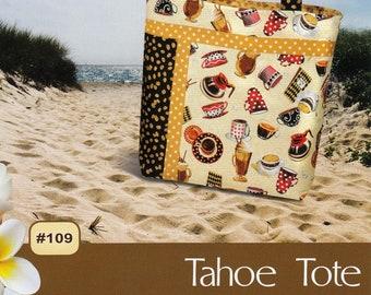 Bag Pattern - Tahoe Tote Bag From Pink Sand Beach Designs By Nancy Green - PSB 109 - DIY Bag Pattern