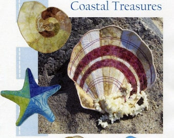 Moldable Bowl Pattern - Coastal Treasures -  Bosal Heat Moldable  Double Sided Fusible - Poorhouse Designs 194 - DIY Pattern