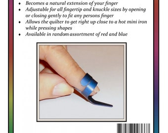 Fingertip Stiletto - Finger Protector - EPP -  Traditional Primitives Missie Carpenter TP4039