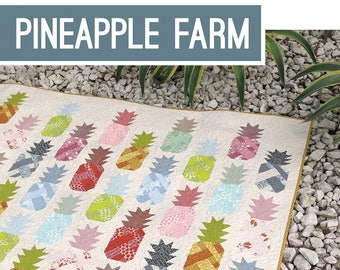 Quilt Pattern - Elizabeth Hartman - Pineapple Farm EH 030 - Do It Yourself - Pattern only