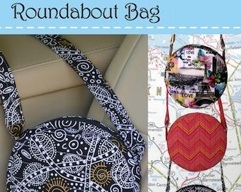 Roundabout Bag PQD 221 - DIY Project - Bosal Roundabout Fusible Interface 495