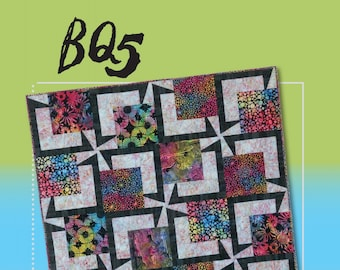 Quilt Pattern - BQ 5 by Debbie Bowles for Maple Island Quilts - MIQ 825 - DIY Pattern Only