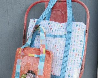 Bag Pattern - Tote Bag - Bag it Up! Fat Quarter Gypsy By  Joanne Hillestad  FQG 116 - DIY Project - 4 Sizes of Bag included in Pattern