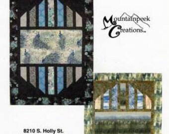 Reflections Pattern - by Kari Nichols for Mountain Peek Creations - MPC 390