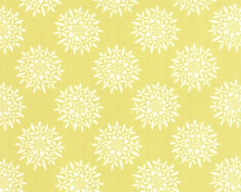Canyon Fabric - Canyon Sedum by Kate Spain for Moda Fabrics 27223 17 Verde - Pale Lime Green - Priced by the Half Yard