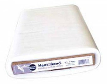 Heat N Bond - Medium Weight Fusible Interfacing - Thermoweb 3517 - Priced by the yard x 20 inch wide