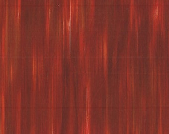 Fleurish Fabric - Striated Line Fabric by KANVAS Studio - 5619 88 Rust - Priced by the 1/2 yard
