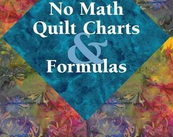 Quilt Chart & Formula Booklet - No Math!  Landauer L112988 - softcover