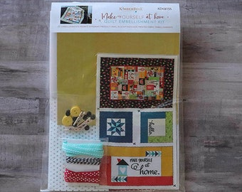 Embellishment Kit Make Yourself At Home - by Kimberbell Designs - DIY Project - Add-ons to Quilt Project 721