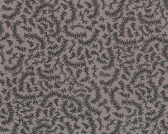 Floral Fabric - Vine from Road 15 by Sweetwater for Moda Fabrics 5525 16 Mist - Priced by the 1/2 yard
